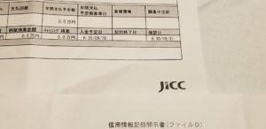 JICC信用情報